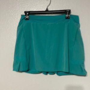 Nike Dri-Fit Flex Pleated Skirt Inner Shorts Aqua